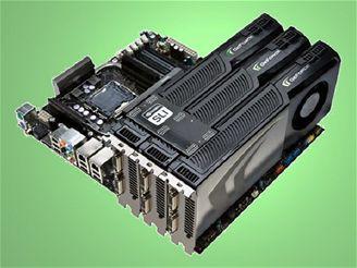 GeForce GTX 260 v zapojení 3Way SLI