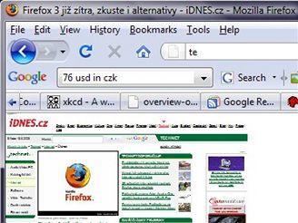 Firefox 3 - Zoom mini
