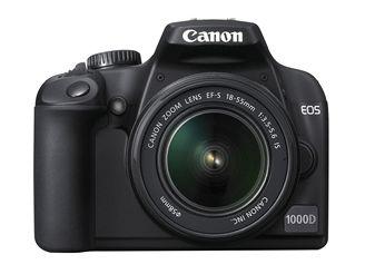 Digitální zrcadlovka Canon EOS 1000D