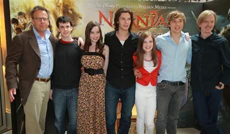 Herci a tvůrci filmu Letopisy Narnie: Princ Kaspian
