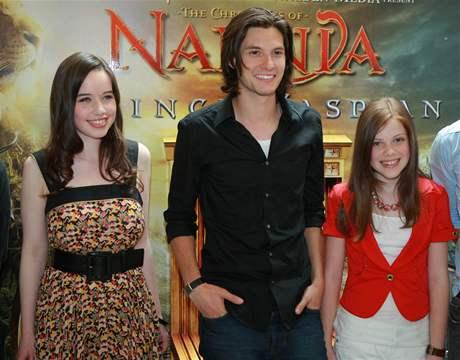 Letopisy Narnie: Princ Kaspian - Anna Poppewellová, Ben Barnes, Georgie Henleyová