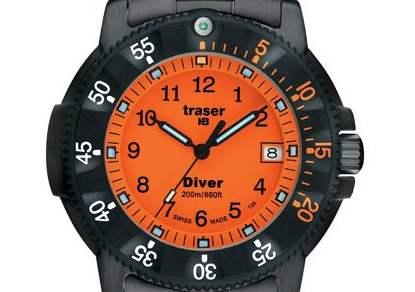 TRASER - Professional P 6504 Diver Orange