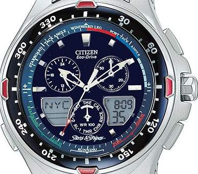 hodinky CITIZEN – JR4000-55L Sailhawk Yacht Timer