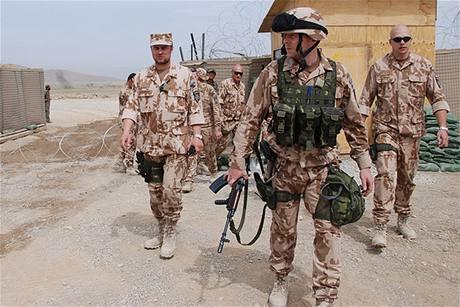 Ostraha základny Shank v Afghánistánu