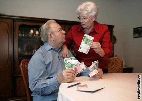 Důchodci, penze