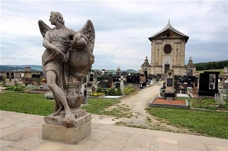 Barokní hřbitov ve Střílkách na Kroměřížsku