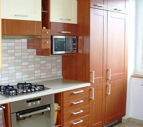Kuchyně v třešni a vanilce
