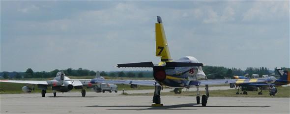Breitling Jet Team - Letecký den v Hradci Králové