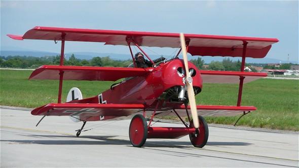 Red Baron - Letecký den v Hradci Králové