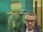 Damien Hirst a jeho dílo Zlaté tele (Golden Calf)