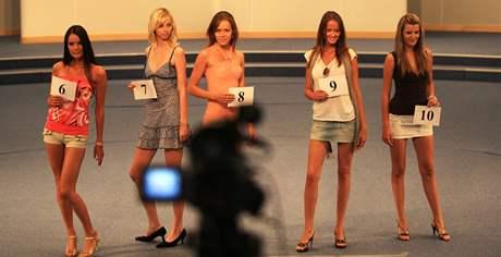 Casting modelek na srpnové veletrhy Styl a Kabo