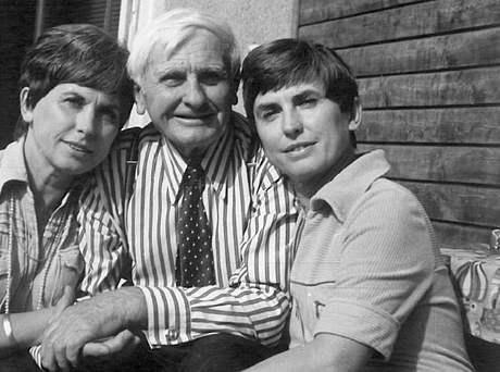 Otec sester brankář Oldřich Machat uměl skvěle kopnout do míče i v devadesáti