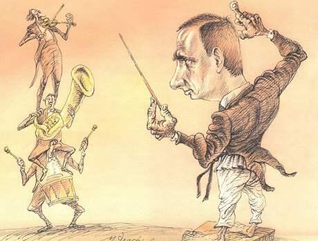 Karikatury Michaila Zlatkovského
