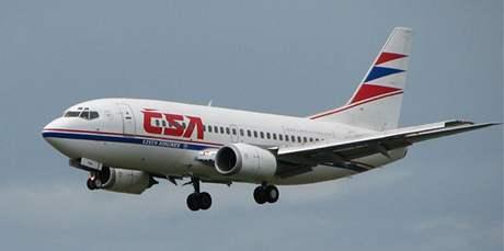 Mluvčí ČSA Daniela Hupáková informovala, že posádka postupovala v souladu s bezpečnostními pokyny. Ilustrační foto.