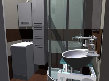 Rekonstrukce malé koupelny