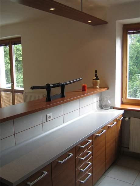 Jednoduchá funkční kuchyně