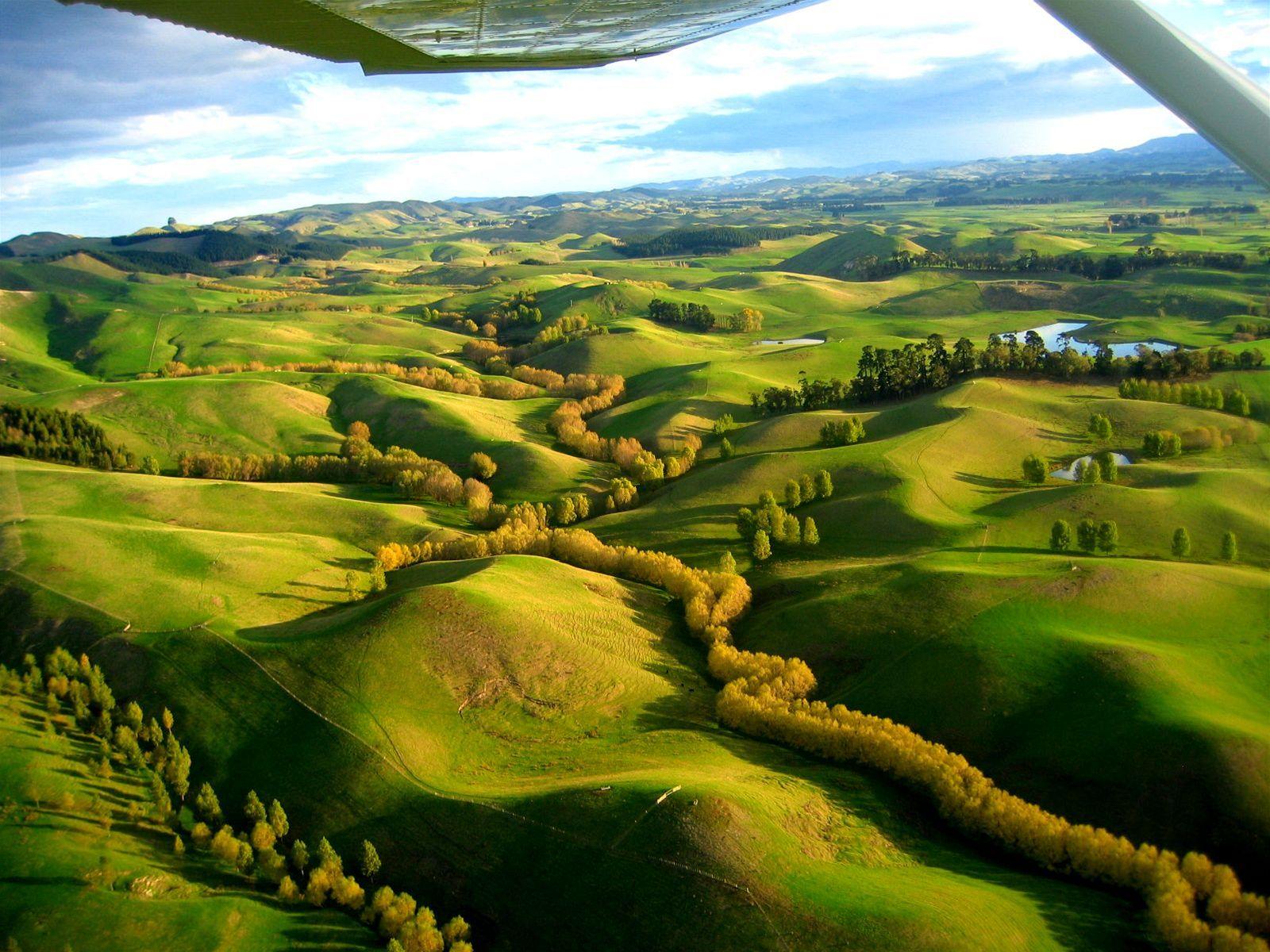 Cena: martin havlík - nový zéland, krajina poblíž východního