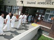 Stávka v nemocnicích