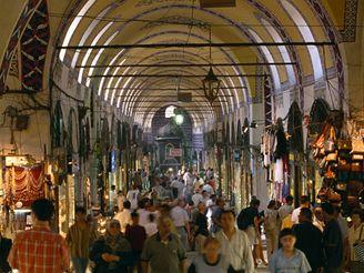 bazar v Istanbulu, Turecko