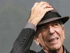 Z festivalu v Glastonbury - Leonard Cohen