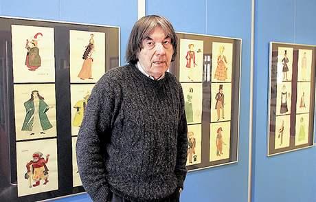 Akademický malíř Alois Mikulka