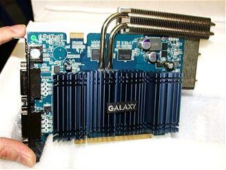 konečná verze GeForce 9500GT třídy galaxy