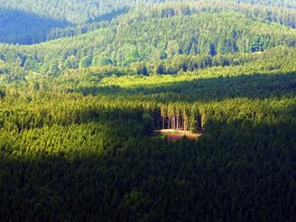Šumava z nebe