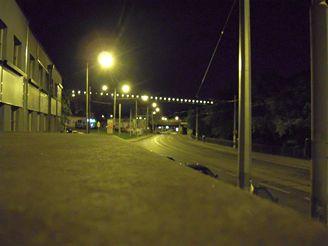 Nikon S600 - noční snímek