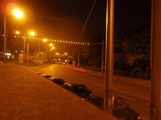 Olympus 1020 - noční snímek