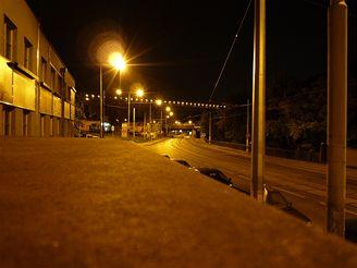 Panasonic FX 500 - snímek v noci