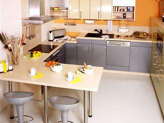 Vystavenou kuchyni ze showroomu koupili manželé s padesátiprocentní slevou.