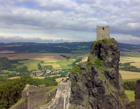 Český ráj - hrad Trosky