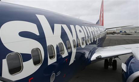 Nový Boeing 737 - 700 Next Generation letecké spole�nosti SkyEurope