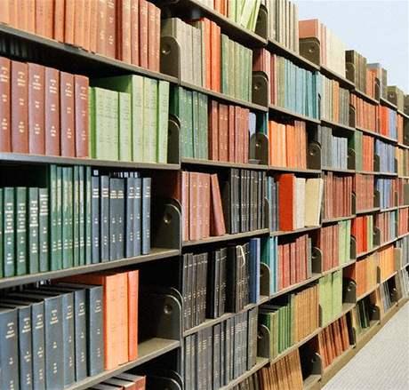 Knihovna, knihy