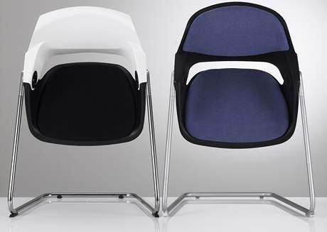 Židle Sitag 2008 - originál vlevo