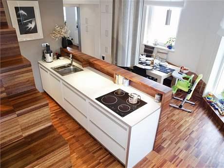 Kuchyně pod schody