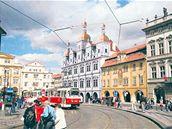 Malostranská beseda v Praze - vizualizace