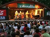 Zahrada 2008 - publikum Žalmanova večera