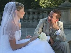 Zpěvák Petr Bende s manželkou Zuzanou