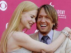 Nicole Kidmanov� a Keith Urban maj� hol�i�ku
