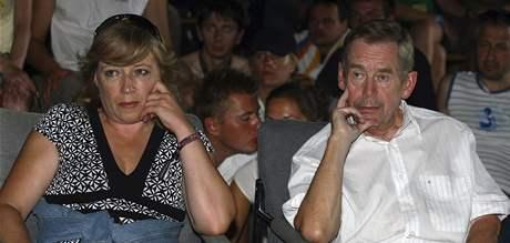 Václav Havel a Iveta Radičová