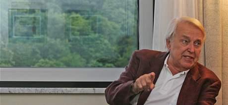 Pavel Kohout přijel do Brna. Na Měsíc autorského čtení a oslavit narozeniny