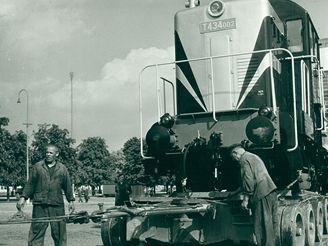 Výkladními skříněmi československého strojírenství v letech 1956