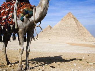 Pyramidy v Gíze, Egypt