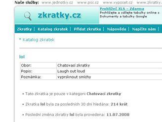 Zkratky.cz