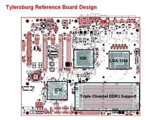 Přesné PCB základní desky s X58