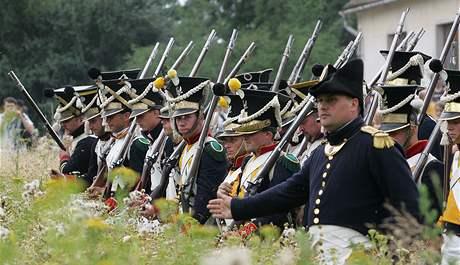 Vojenští nadšenci svedli v Dobšicích bitvu z dob napoleonských válek