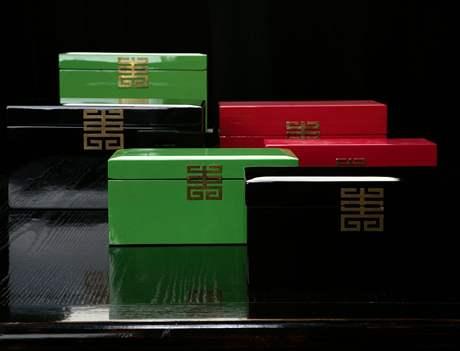 Lakované krabice
