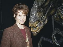 Vetřelec - Herečka Sigourney Weaverová
