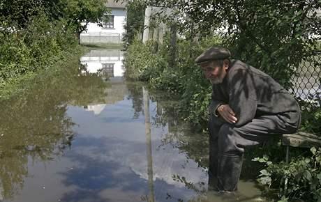 Záplavy na východě Evropy (28. července 2008)